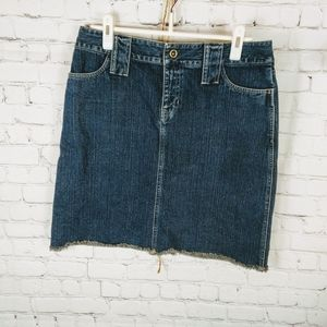 ie jeans skirt size 10